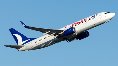 A picture of TCJFC - Boeing 7378F2 - Turkish Airlines - © Alp AKBOSTANCI