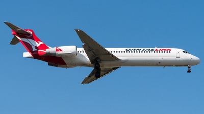 A picture of VHYQX - Boeing 7172K9 - Qantas - © Andrew Lesty