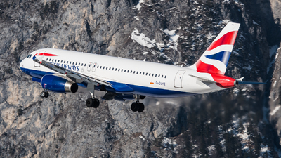G-EUYE - Airbus A320-232 - British Airways