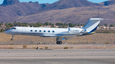 C-GBGC - Gulfstream G550 - Private