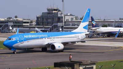 LV-FRK - Boeing 737-8BK - Aerolíneas Argentinas