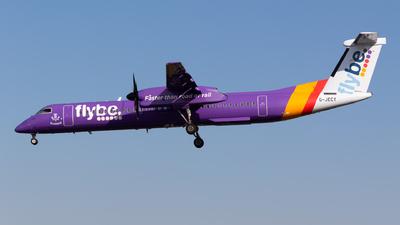 A picture of GJECY - De Havilland Canada Dash 8400 - Flybe - © Jesse Vervoort