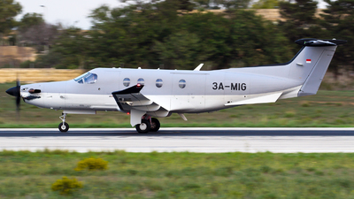 3A-MIG - Pilatus PC-12/47E - Private