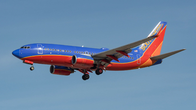 N222WN - Boeing 737-7H4 - Southwest Airlines