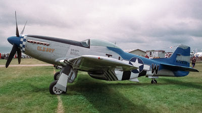 NL51YS - North American P-51D Mustang - Private