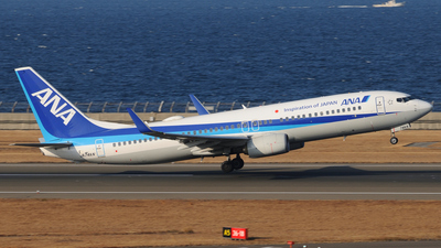 A picture of JA74AN - Boeing 737881 - All Nippon Airways - © Kinmei