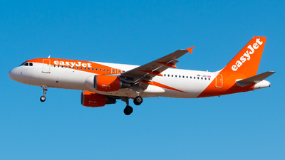 HB-JXI - Airbus A320-214 - easyJet Switzerland