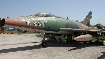 54-2245 - North American F-100D Super Sabre - Turkey - Air Force