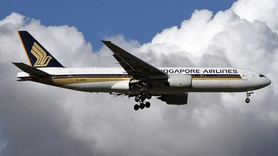 9V-SRM - Boeing 777-212(ER) - Singapore Airlines