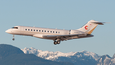 C-FZLA - Bombardier BD-700-1A10 Global 6000 - Private