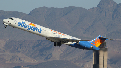 N408NV - McDonnell Douglas MD-83 - Allegiant Air