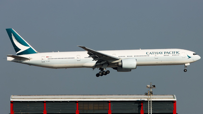 A picture of BKPI - Boeing 777367(ER) - Cathay Pacific - © Jack Sin
