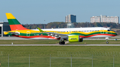 A picture of YLCSK - Airbus A220300 - Air Baltic - © marfi80