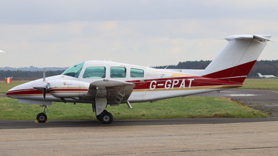 G-GPAT - Beechcraft 76 Duchess - Private