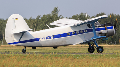 D-FWJK - PZL-Mielec An-2 - Private