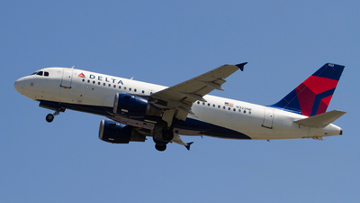 A picture of N322NB - Airbus A319114 - Delta Air Lines - © Jeremy D. Dando