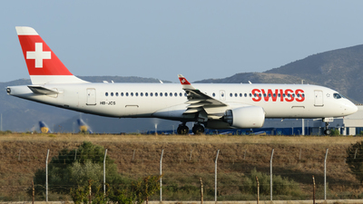 A picture of HBJCS - Airbus A220300 - Swiss - © George Chaidaris