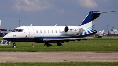 VP-CLJ - Bombardier CL-600-2B16 Challenger 605 - Private