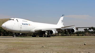 EP-ICC - Boeing 747-2J9F(SCD) - Iran Air Cargo