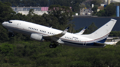 N836BA - Boeing 737-7BC(BBJ) - Boeing Company