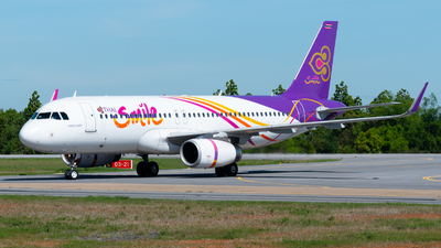 A picture of HSTXT - Airbus A320232 - Thai Smile - © Amarase Pamarapa