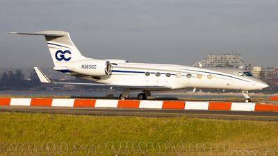 N365GC - Gulfstream G550 - Private
