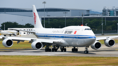 A picture of B2487 - Boeing 74789L - Air China - © SS8-0002