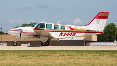 N344S - Beechcraft 58 Baron - Private