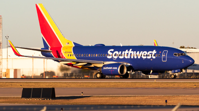 N554WN - Boeing 737-7BX - Southwest Airlines