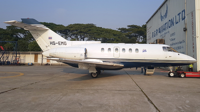 HS-EMG - Raytheon Hawker 800 - Private