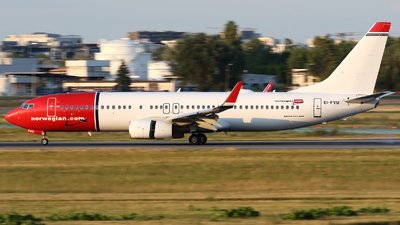 EI-FVU - Boeing 737-8JP - Norwegian