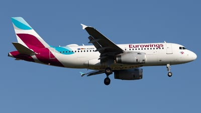 A picture of DAGWH - Airbus A319132 - Eurowings - © PM