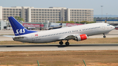 LN-BRQ - Boeing 737-405 - Scandinavian Airlines (SAS)
