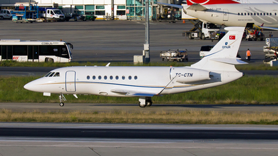 TC-CTN - Dassault Falcon 2000 - Private