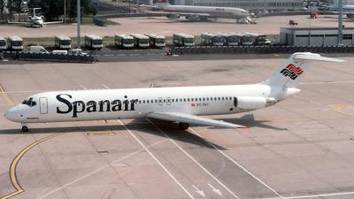 EC-ENZ - McDonnell Douglas DC-9-51 - Spanair