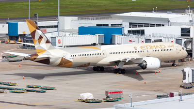 A picture of A6BLY - Boeing 7879 Dreamliner - Etihad Airways - © CATHAY246