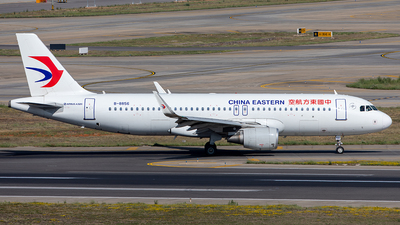 A picture of B8856 - Airbus A320214 - China Eastern Airlines - © Yan Shuai