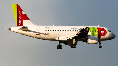 A picture of CSTTJ - Airbus A319111 - TAP Air Portugal - © Wilko Doodhagen