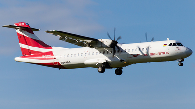 3B-NBO - ATR 72-212A(500) - Air Mauritius