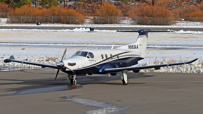 N883AA - Pilatus PC-12/47E - Private