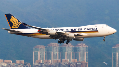 A picture of 9VSFM - Boeing 747412F(SCD) - Singapore Airlines - © T_Thomas Aviation
