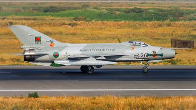 1426 - Chengdu F-7MB - Bangladesh - Air Force