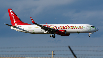 N598CB - Boeing 737-86J - Corendon Airlines