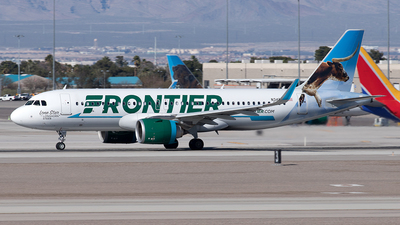 N347FR - Airbus A320-251N - Frontier Airlines