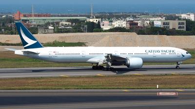 B-KQJ - Boeing 777-367ER - Cathay Pacific Airways