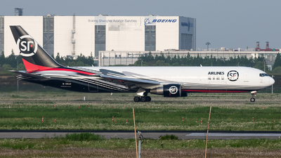 A picture of B20A2 - Boeing 76736D(ER)(BCF) - SF Airlines - © Lazy Clutch
