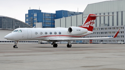 4L-GAF - Gulfstream G450 - Georgian Airways (AirZena)