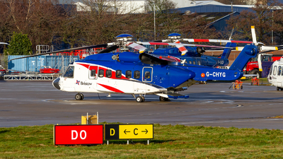 G-CHYG - Sikorsky S-92A Helibus - Bristow Helicopters