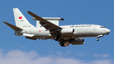 13-004 - Boeing 737-7ES Peace Eagle - Turkey - Air Force
