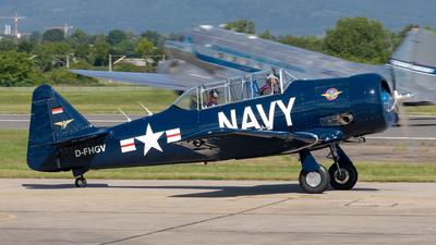 D-FHGV - North American AT-6 Harvard II - Private